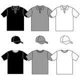 De mensen en honkbal GLB van de t-shirt Royalty-vrije Stock Afbeeldingen