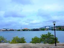 De mensen genieten van de monarch die van het cruiseschip naar Aruba, bonaire, curacao, Panama en Cartagena reizen stock foto's