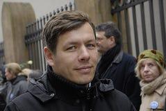 De mensen ketenen voor Joden in Denemarken Royalty-vrije Stock Foto