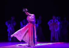 """De mensen kleden zich omhoog als vrouw-dans drama""""Mei Lanfang† Stock Foto"""