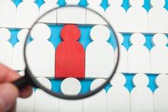 De mensen selecteren, kiezen baan, carri?rejacht Werknemers bedrijfskans Personeel, managerkeus royalty-vrije stock afbeeldingen