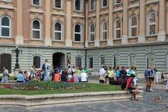 De mensen van Boedapest Royalty-vrije Stock Foto