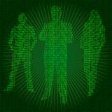 De mensen van Cyber royalty-vrije illustratie
