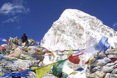 De Mensen van de berg - Himalayagebergte Royalty-vrije Stock Afbeeldingen