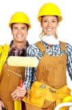 De mensen van de bouwer Royalty-vrije Stock Afbeelding
