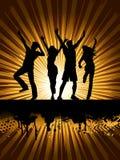 De mensen van de disco Stock Foto's