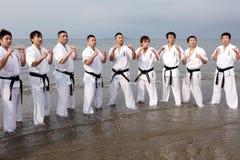 De mensen van de karate royalty-vrije stock fotografie