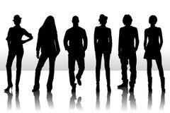 De mensen van de manier Stock Foto