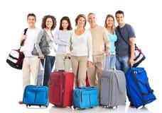 De mensen van de toerist Stock Foto's