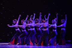 De Mensen van dochter bloem-Dai de dans-nationale volksdans Royalty-vrije Stock Foto
