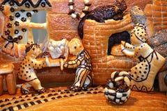 De mensen van het brood royalty-vrije stock foto