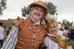 De Mensen van het de Renaissancefestival van Arizona Stock Afbeeldingen