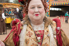 De Mensen van het de Renaissancefestival van Arizona Royalty-vrije Stock Foto