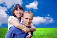 De mensen van het geluk Royalty-vrije Stock Afbeeldingen