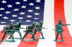 De Mensen van het leger Stock Foto