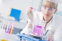 De mensen van het onderzoek en van de wetenschap in labaratory Royalty-vrije Stock Foto