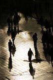 De mensen van het silhouet Royalty-vrije Stock Afbeeldingen