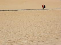 De mensen van het zand Royalty-vrije Stock Foto