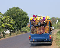 De mensen van Kameroen Royalty-vrije Stock Foto