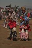 De mensen van Lesotho Stock Foto