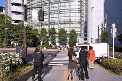 De mensen van Osaka Royalty-vrije Stock Fotografie