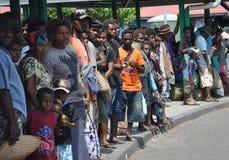 DE MENSEN VAN PAPOEA-NIEUW-GUINEA royalty-vrije stock foto