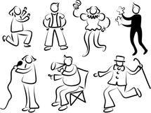 De mensen van prestaties vector illustratie
