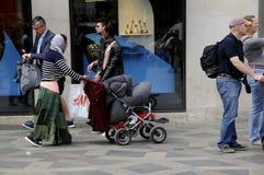 DE MENSEN VAN ROME Stock Fotografie