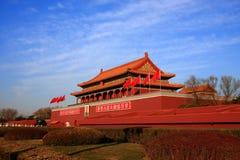 De mensen van Tian'an   stock foto