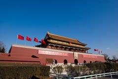 De mensen van Tian'an Stock Afbeelding