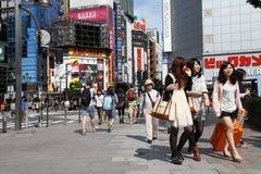 De mensen van Tokyo Stock Foto's
