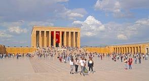 De mensen vieren 19 Mei Herdenking van Ataturk, Stock Afbeeldingen