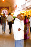 De mensen winkelen binnen Meena Royalty-vrije Stock Fotografie