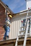 De mensenarbeider van de bouw Stock Afbeeldingen