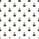 De mensenpatroon van Jood stock illustratie