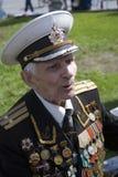 De mensenportret van de oorlogsveteraan Royalty-vrije Stock Foto