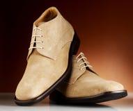 De mensenschoenen 12 van de luxe Stock Foto