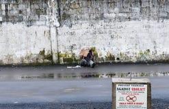 De mensenvoorlichting voor Ebola-ziekte is op zeer laag Stock Fotografie
