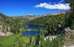 De Meren van de berg royalty-vrije stock fotografie