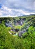 De meren van Plitvice royalty-vrije stock afbeelding