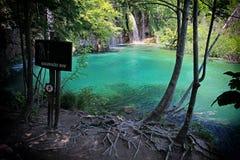 De meren van Plitvice Stock Afbeelding