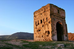 De Merenid-Graven in Fez Royalty-vrije Stock Fotografie