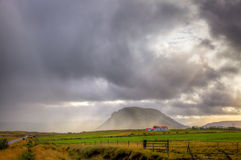 De merenonweer van Waterton Stock Foto
