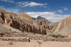 De mest intressanta ställena av Sydamerika, kanjon Cotahuasi Arkivbilder