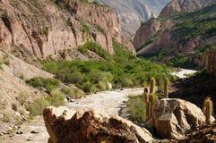De mest intressanta ställena av Sydamerika, kanjon Cotahuasi Royaltyfria Foton