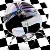 De mestkever van het kristal vector illustratie