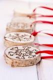 De met de hand gemaakte decoratie van het Kerstmisornament Royalty-vrije Stock Foto