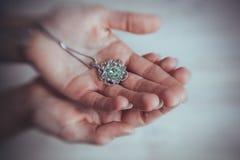 De met de hand gemaakte juwelen Royalty-vrije Stock Afbeeldingen