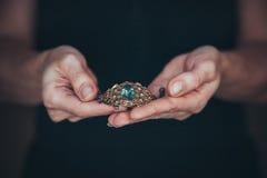 De met de hand gemaakte juwelen Stock Afbeelding