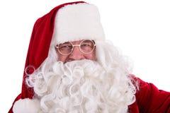 De met de hand geschilderde Kerstman Royalty-vrije Stock Foto's